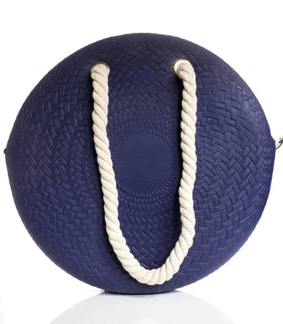 Duża okrągła TORBA sylikonowa ze sznurem