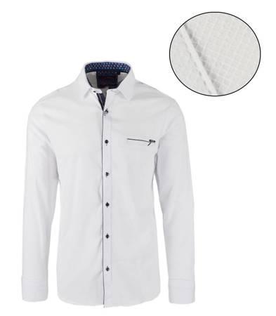 Elegancka koszula męska Bawełna SLIM FIT