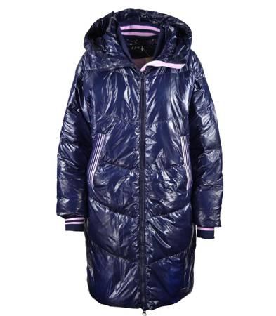 Epicki puchowy płaszcz w stylu VINTAGE