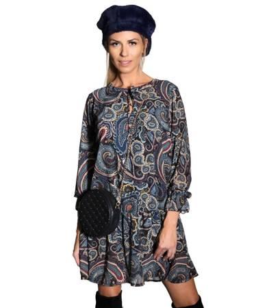Lekka szyfonowa sukienka BodyFlirt