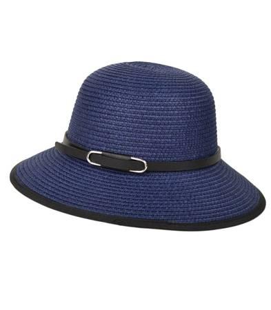 Letni mały damski kapelusz słomkowy SAFARI